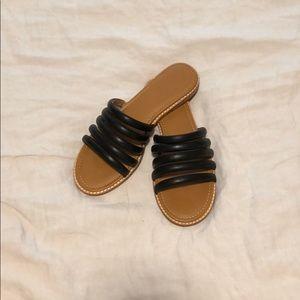 The Addie slide sandal - black size 7